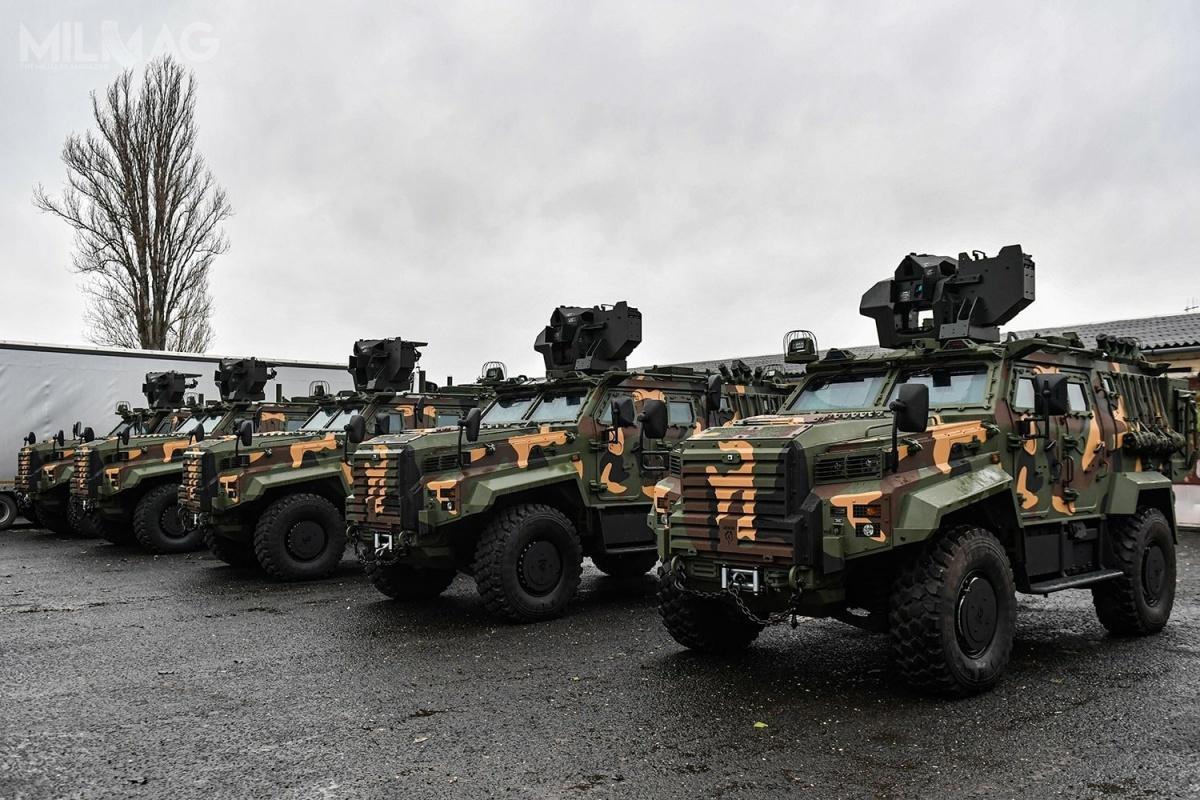 Węgierskie siły zbrojne użytkują obecnie 10 z40 zamówionych pojazdów Ejder Yalçın, które zostały niedawno dostarczone przezspółkę Nurol Makina / Zdjęcia: ministerstwo obrony Węgier