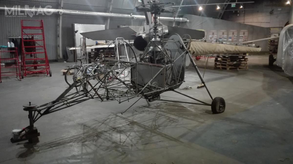 SP-GIL jest jedynym statkiem powietrznym tego typu zachowanym naświecie