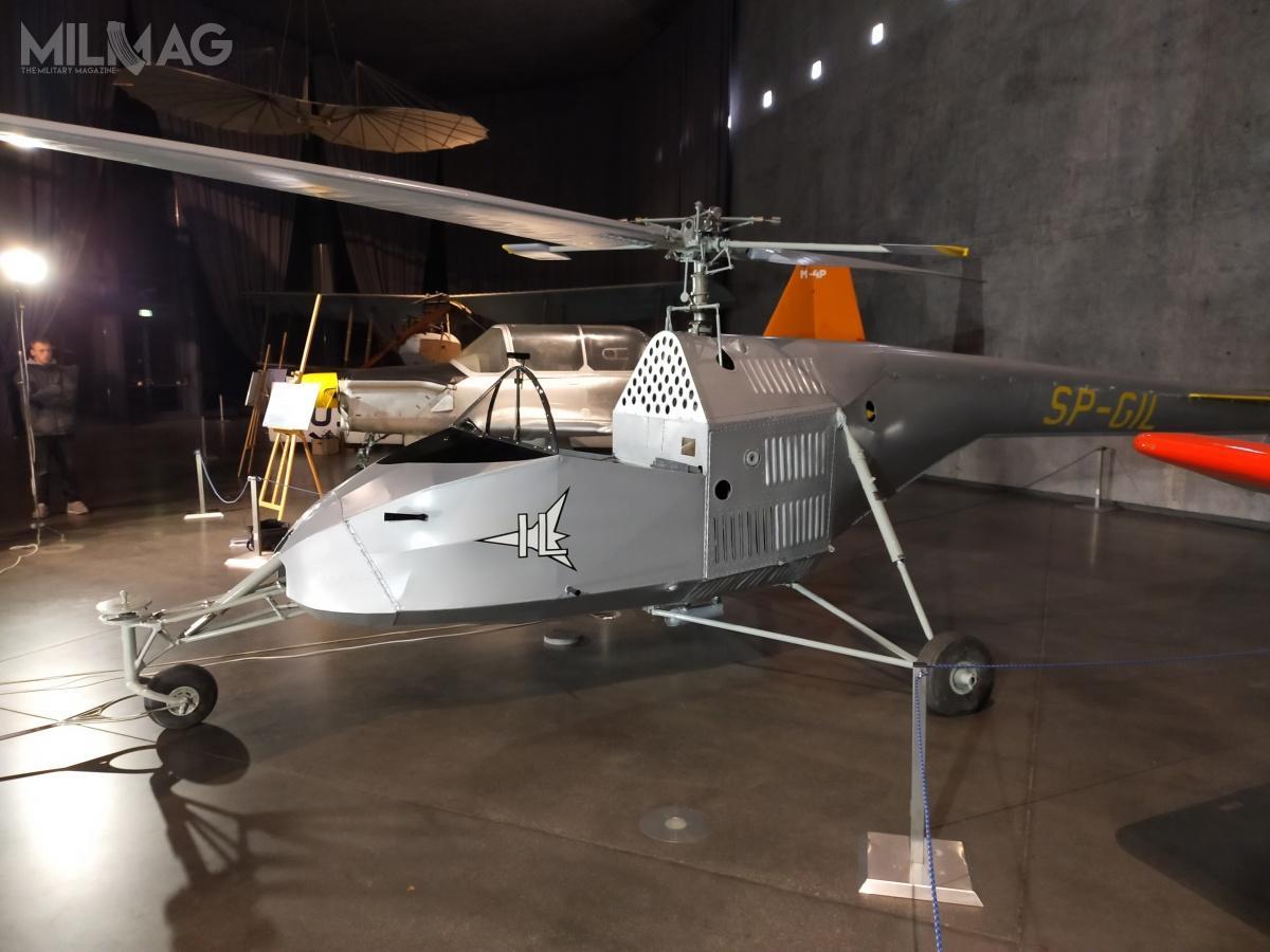 Wyremontowany śmigłowiec powrócił naekspozycję wGmachu Głównym Muzeum / Zdjęcia: Feniks Reco