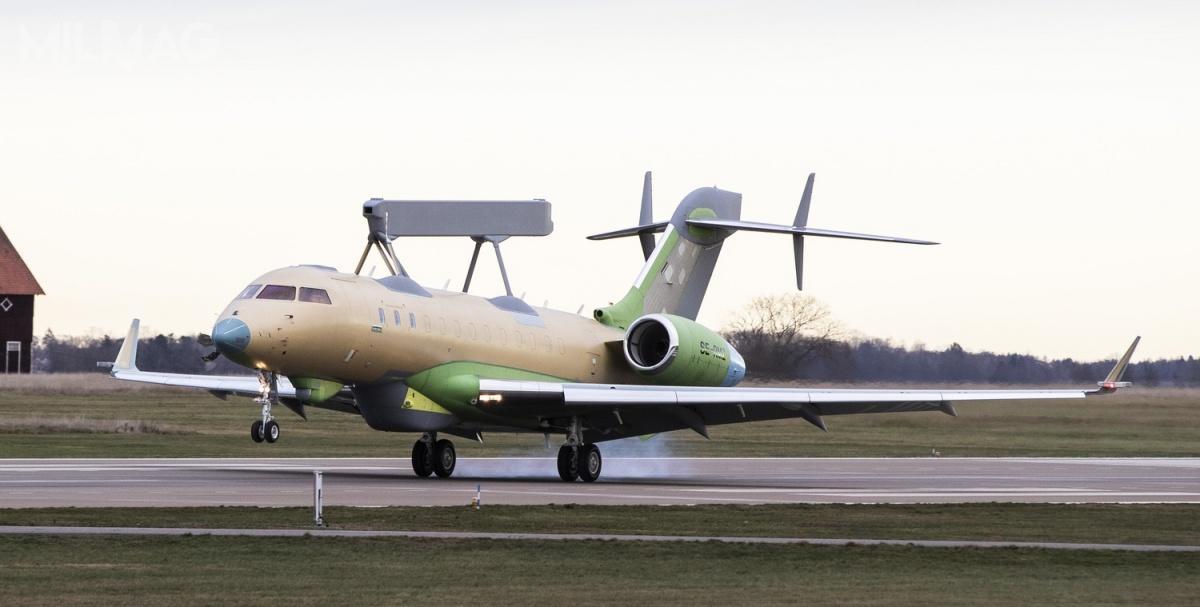 Siły zbrojne ZEA jako pierwsze zdecydowały się nazakup GlobalEye. Samoloty są określane jako wielozadaniowy system powietrznej obserwacji SRSS (Swing Role Surveillance System) wzakresie operacji poszukiwawczo-ratowniczych, ochrony granic ioperacji wojskowych