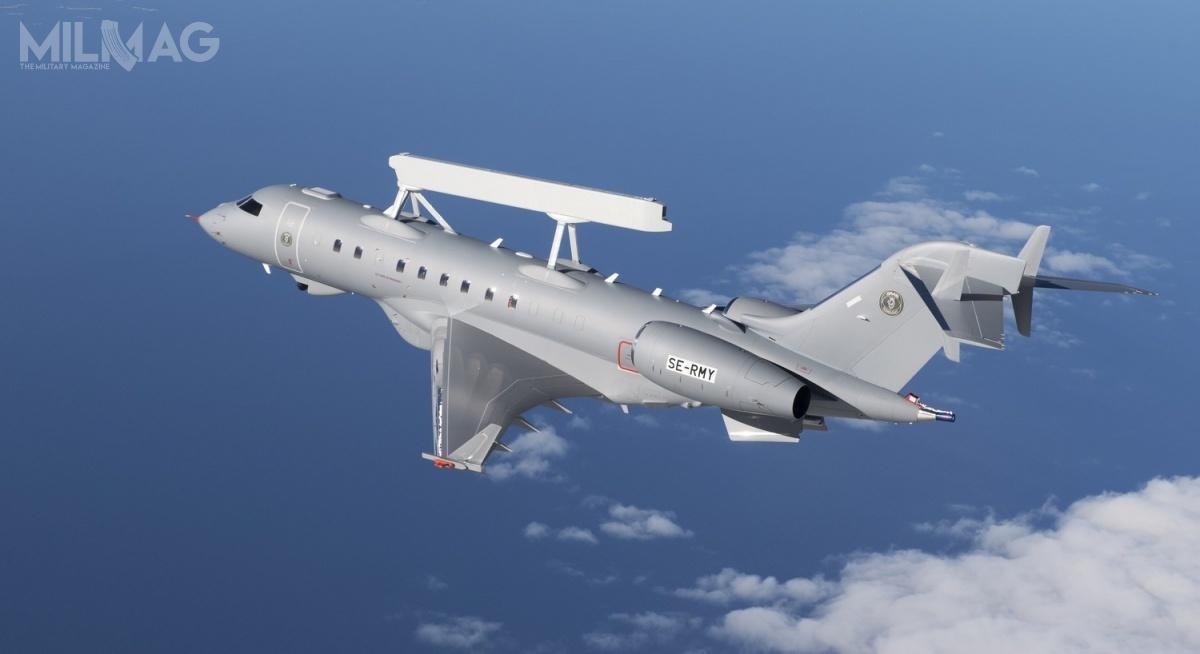 Saab zaoferował Finom samoloty wczesnego ostrzegania idowodzenia GlobalEye, przeznaczone także doprowadzenia zwiadu irozpoznania. Ma towzmocnić iuatrakcyjnić ofertę nasamoloty JAS 39E/F Gripen / Zdjęcie: Saab Defence and Security