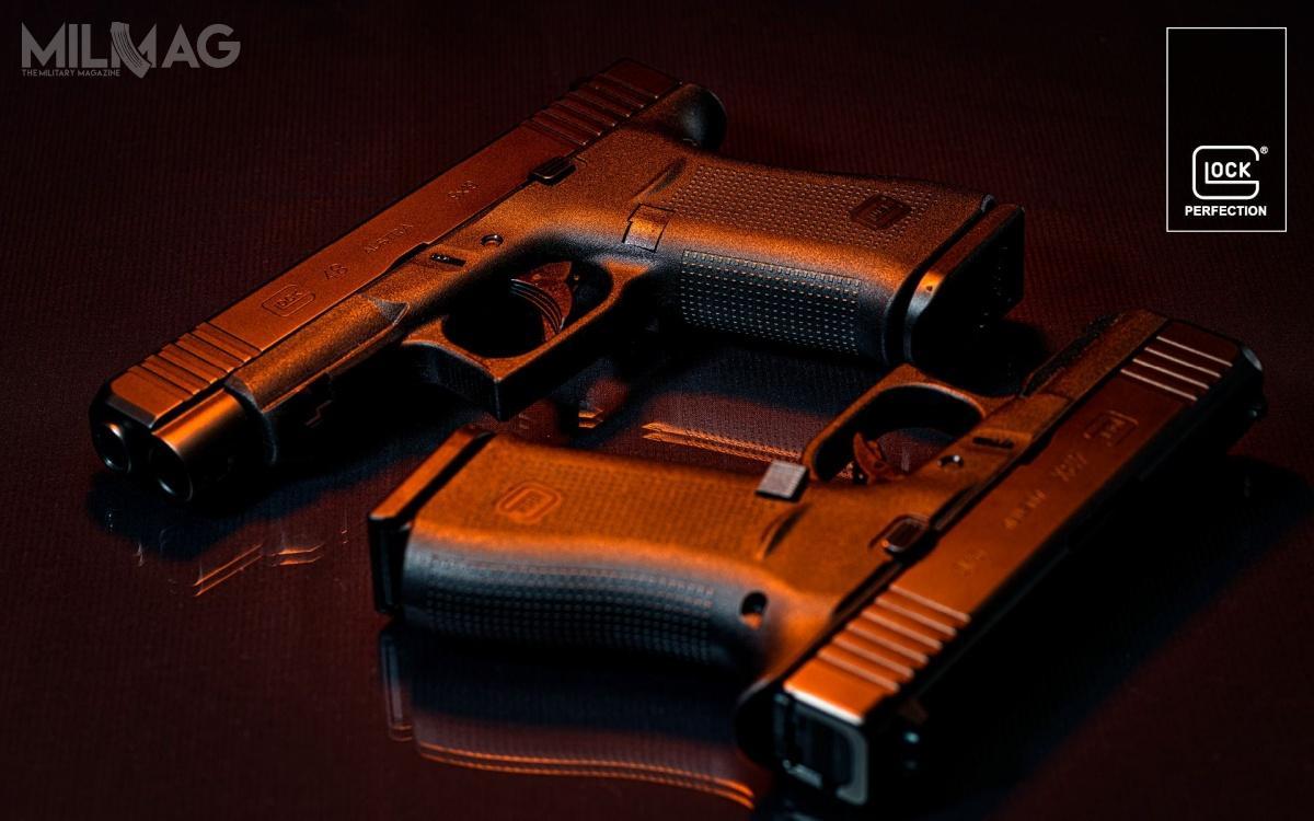 Glock wprowadza dosprzedaży wEuropie odmiany G48 iG43X wyposażone wpodlufową szynę akcesoryjną.
