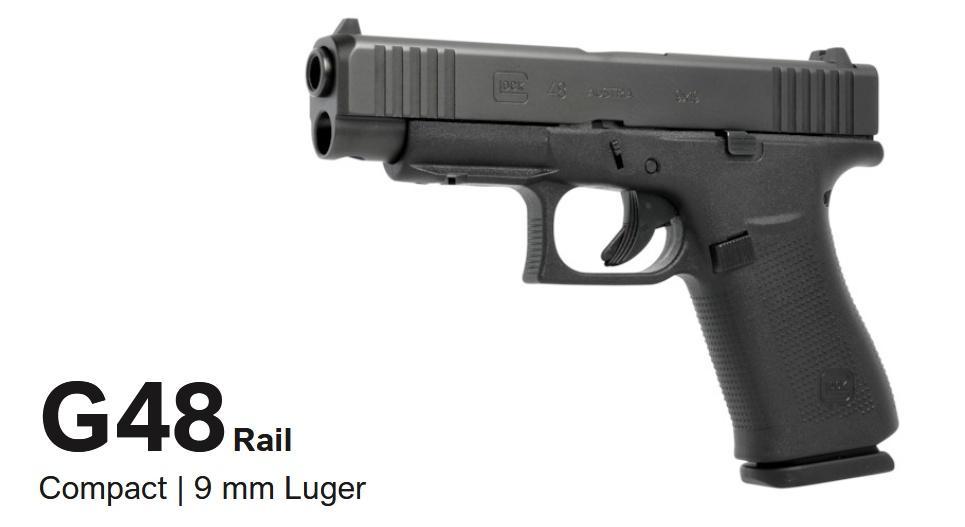 G48 toodmian zprzedłużonym zamkiem otejsamej długości co wwypadku G19. Oferuje dłuższą linię celowania inieco zwiększoną prędkość wylotową pocisku, co może mieć spływ nabalistykę końcową amunicji JHP. /Zdjęcia: Glock