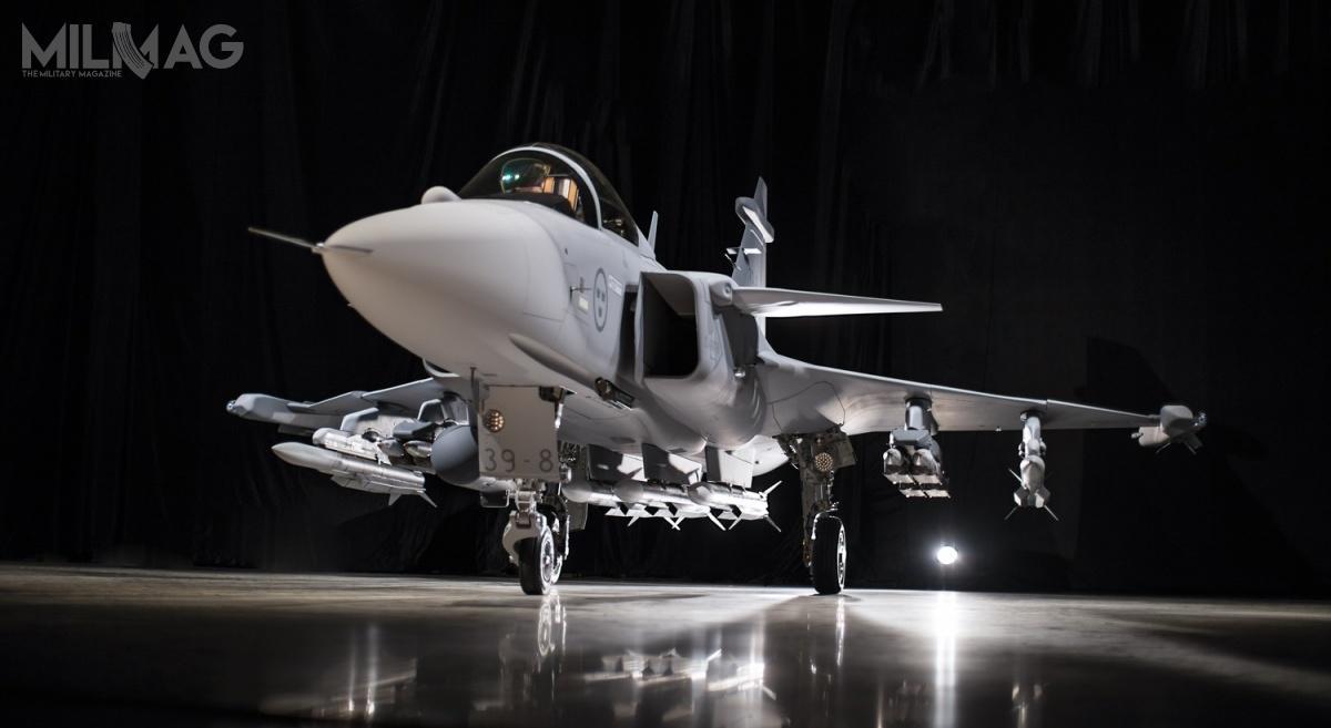 Prezentacja jednego zdwóch prototypów JAS 39E Gripen miała miejsce 18 maja 2016, natomoast oblot 15 czerwca 2017 / Zdjęcia: Saab Defence and Security