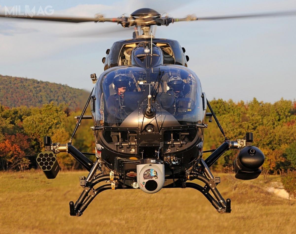 Zmilitaryzowane H145M zostały dotąd zamówione przezNiemcy, Tajlandię, Węgry, Luksemburg iSerbię / Zdjęcie: Airbus Helicopters