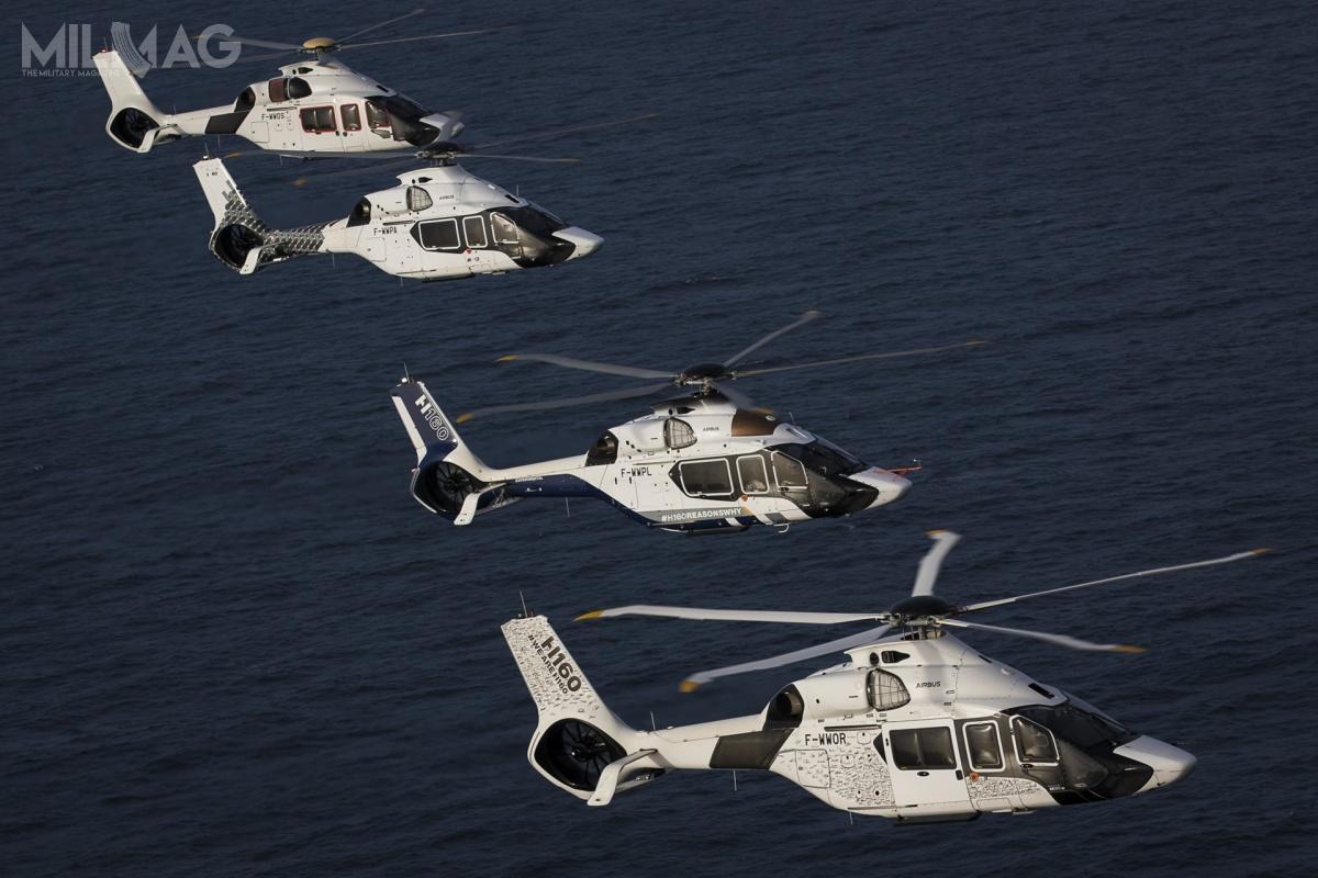 Zakup czterech cywilnych śmigłowców H160 wkonfiguracji SAR jest rozwiązaniem tymczasowym przedwprowadzeniem wojskowego wariantu śmigłowca, H160M Guépard, począwszy od2026 / Zdjęcie: Airbus Helicopters
