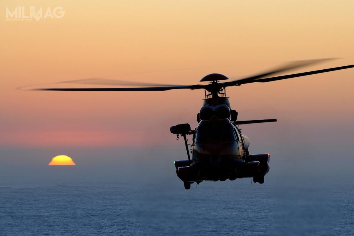 H225 Super Puma tonajwiększy cywilny śmigłowiec oferowany przezAirbusa. Wiropłaty tego typu spędziły wpowietrzu ponad 600 tys. godzin / Zdjęcie: Airbus Helicopters