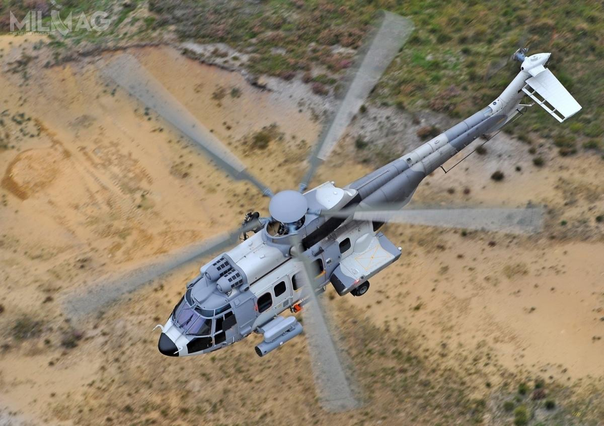 Węgry staną się dziewiątym użytkownikiem H225M Caracal. Jak dotąd Airbus Helicopters dostarczył 88 śmigłowców, które uzyskały wstępną gotowość operacyjną wefrancuskich siłach zbrojnych w2006 ijak wylatały ponad 100 tysięcy godzin / Zdjęcie: Airbus Helicopters