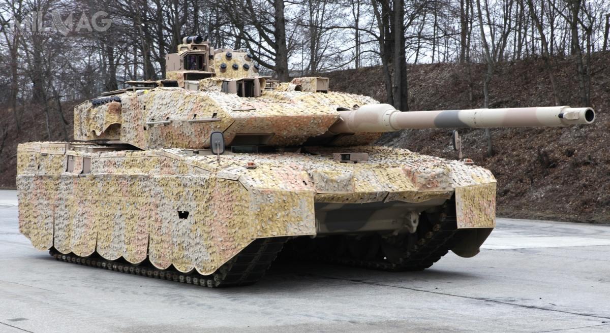 Do 2026 liczba czołgów wbatalionach pancernych niemieckich wojsk lądowych  ma wzrosnąć z225 do328 / Zdjęcie: KMW
