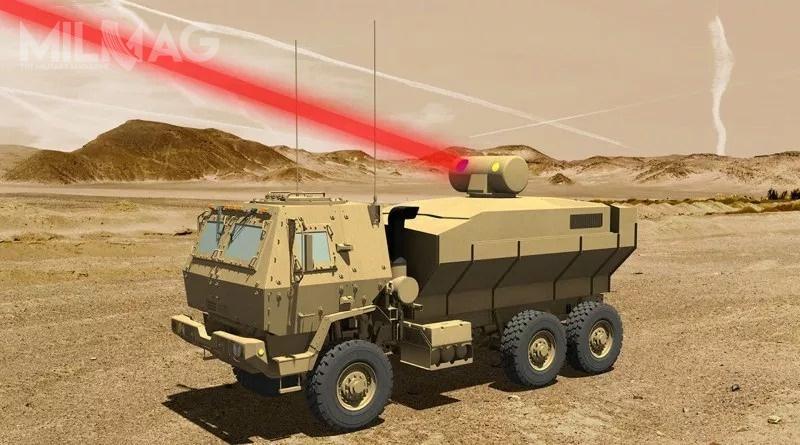 Drugim podmiotem, biorącym udział wprogramie HEL TVD, jest Lockheed Martin, którydostarczył demonstrator lasera omocy 60 kW natesty doUS Army wmarcu 2017 / Grafika: Lockheed Martin