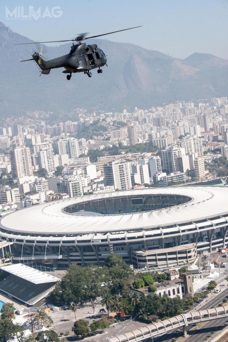 Jak dotąd, wciągu 10 lat trwania programu H-XBR, brazylijskie siły zbrojne odebrały 32 wiropłaty. /Zdjęcia: Helibras
