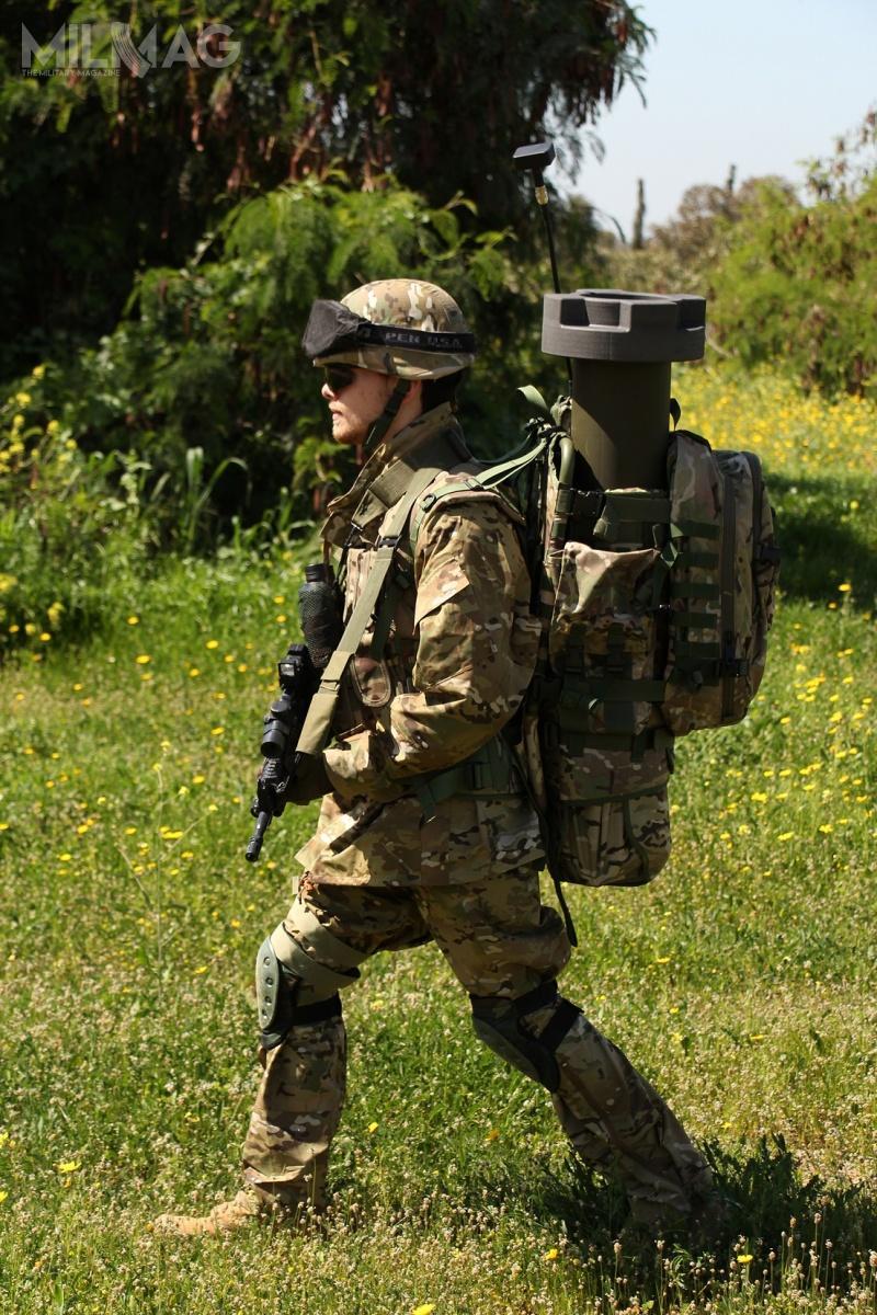 Hero-30_2: Dzięki zredukowanej masie całkowitej, zestaw może być przenoszony przezpojedynczego żołnierza