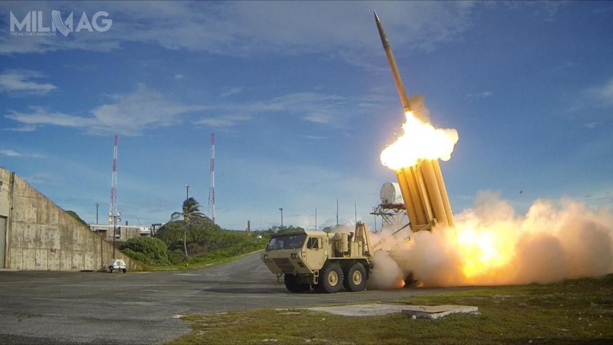 THAAD jest elementem systemu BMD (Ballistic Missile Defense), któryma zazadanie przechwytywanie orazniszczenie pocisków balistycznych orazgłowic bojowych przeciwnika napoczątku ostatniej, terminalnej fazy ich lotu (Terminal Phase Defense) /Zdjęcie: Ralph Scott (MDA/Departament Obrony USA)