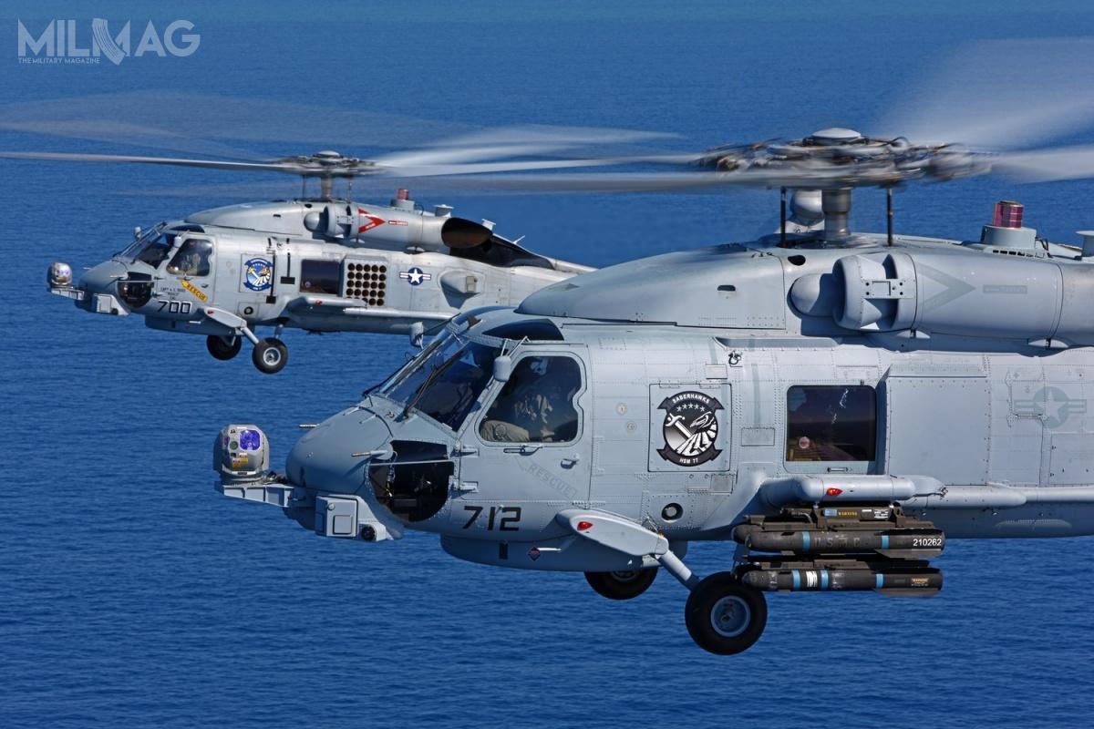 Indie staną się piątym użytkownikiem śmigłowców MH-60R Seahawk poAustralii, Arabii Saudyjskiej, Danii iUSA. Kolejnym ma szansę stać się Korea Południowa / Zdjęcie: US Navy