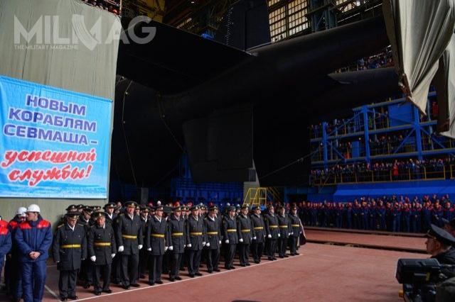 Rosjanie planują budowę około 32 torped – bezzałogowców Posejdon dla czterech okrętów podwodnych. Sześć ma być przenoszonych przezK-329 Biełgorod. Zapowiedziano również budowę okrętu podwodnego Chabarowsk projektu 09851 nabazie zmniejszonego 955A Boriej, któryma być drugim nosicielem Posejdonów / Zdjęcie:  OAO POSiewmasz