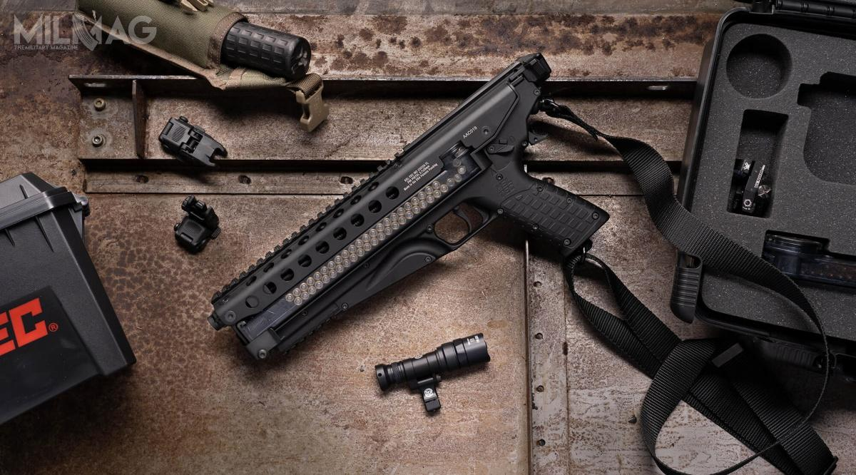Amerykańskie przedsiębiorstwo KelTec ujawniło 5,7-mm pistolet samopowtarzalny P50. Konstrukcja ma trafić narynek wIkwartale 2021 roku. Niecodzienna broń zasilana jest z50-nabojowego magazynka zpistoletu maszynowego FN P90.