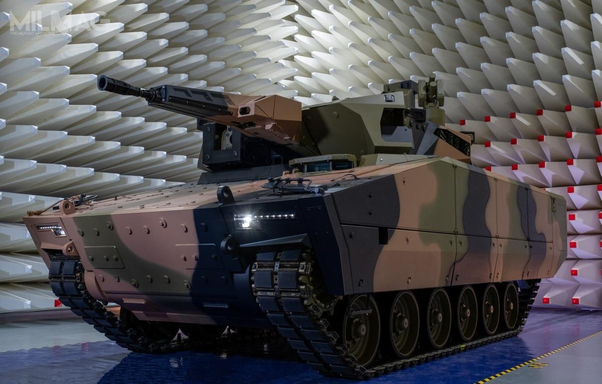 KF41 Lynx, będący powiększoną wersją KF31, został zaprezentowany podczas paryskich targów Eurosatory 2018. Pojazd otrzymał dwuosobową wieżę Lance 2.0 uzbrojoną w35-mm armatę automatyczną Wotan 35 ozasięgu do3km i7,62-mm trzylufowy napędowy km RMG762