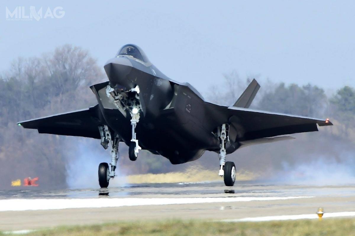 Południowokoreańskie samoloty wielozadaniowe F-35A Lightning II będą stacjonować głównie wbazie lotniczej Cheong Ju / Zdjęcie: ROKAF