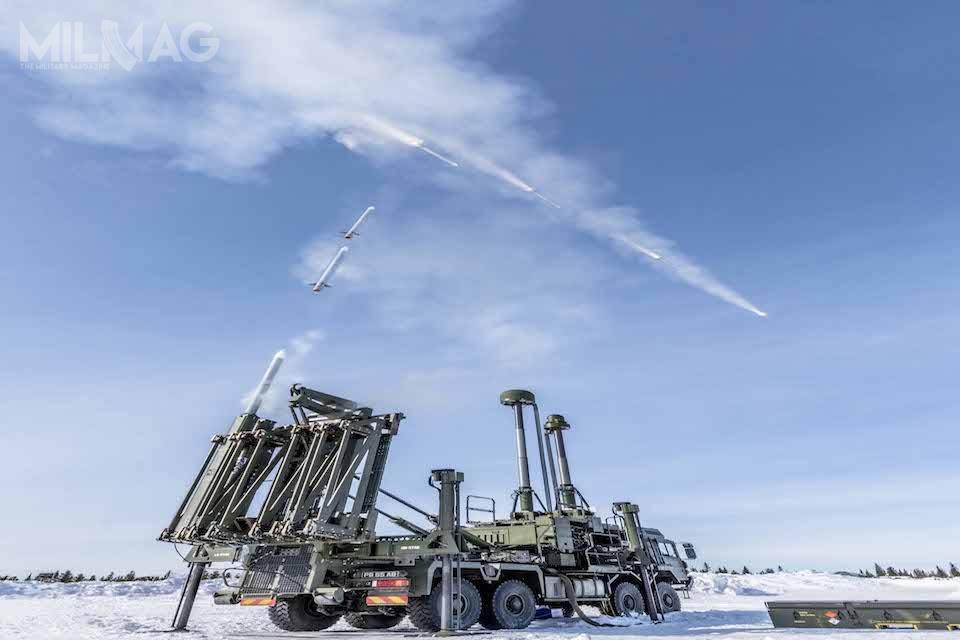 Pierwsze udane próby pocisków Land Ceptor, będących częścią systemu MBDA EMADS, przeprowadzono najednym zeszwedzkich poligonów wojskowych / Zdjęcie: Ministerstwo Obrony Wielkiej Brytanii .