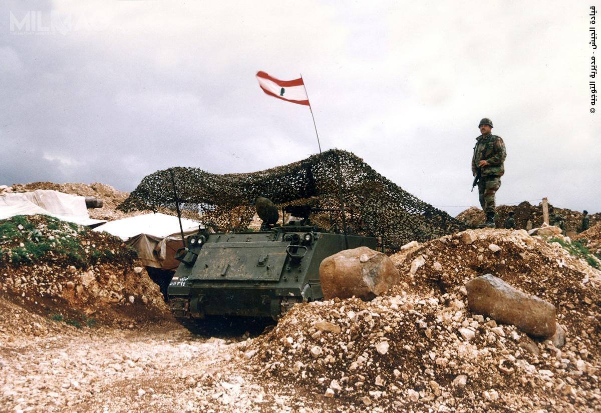 Amerykańska pomoc wojskowa dociera doLibanu od1958. Kraj od1970 uwikłany był wkrwawą wojnę domową / Zdjęcie: Al-Quwwāt al-Musallaḥa al-Lubnāniyya