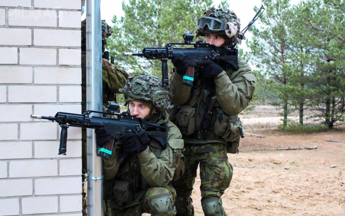 Litewskie ministerstwo obrony zamówiło kolejną partię karabinków H&K G36K4M1 wraz zgranatnikami HK269. Broń dostarczy niemieckie przedsiębiorstwo Heckler & Koch / Zdjęcia: Litewskie Ministerstwo Obrony