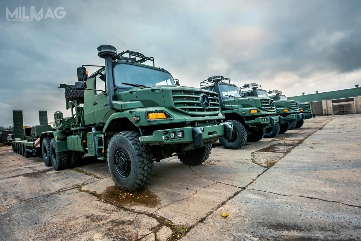 Litewskie siły zbrojne przechodzą obecnie intensywną modernizację wyposażenia, infrastruktury iuzbrojenia. Zakup pojazdów dla wojsk lądowych odbywa się zapośrednictwem natowskiej agencji wsparcia NSPA / Zdjęcia: Ministerstwo Obrony Litwy