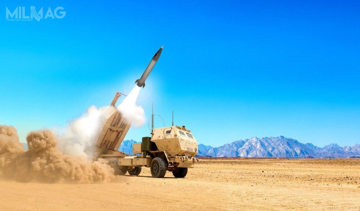 Prototyp pocisku balistycznego Lockheed Martin PrSM został wystrzelony zwyrzutni M1140 systemu M142 HIMARS napoligonie White Sands