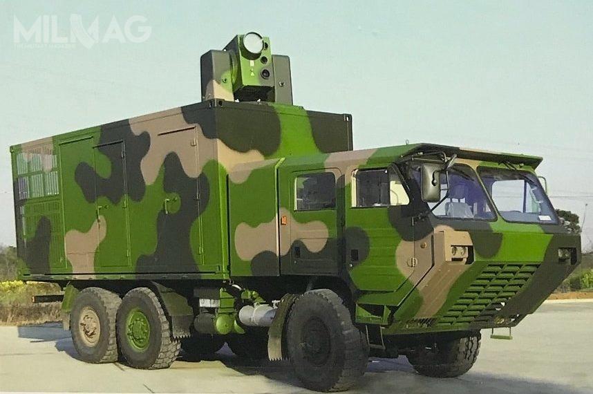 Podczas targów Airshow China, koncern CASIC zaprezentuje pojazd bojowy zefektorem systemu laserowego LW-30. /Zdjęcie: kaixian.tv