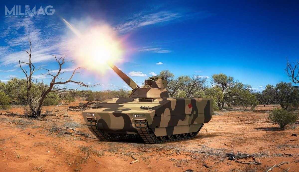 Modułowa konstrukcja pojazdów Lynx pozwoli nadostosowanie ich m.in.dokonfiguracji samobieżnego moździerza