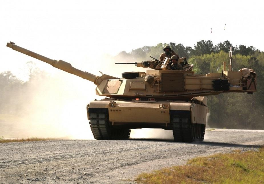 M1A1-SA jest topakiet modernizacyjny starszych wozów M1A1 Abrams, opracowany zmyślą oużyciu wwarunkach początku konfliktu zbrojnego. /Zdjęcie: US Army