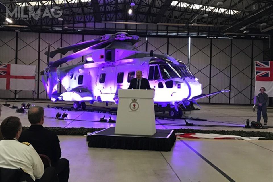 Wszystkie 25 śmigłowców Commando Merlin HC Mk4/4A ma osiągnąć gotowość operacyjną w2023 / Zdjęcie: Ministerstwo Obrony Wielkiej Brytanii