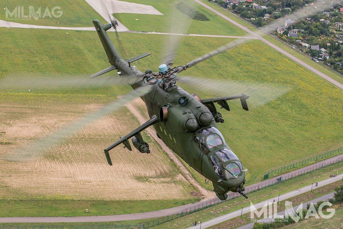 Modernizacja Mi-24D iMi-24W ma zwiększyć zdolności bojowe powyczerpaniu się kilka lat temu resursów technicznych dla przeciwpancernych pocisków kierowanych 9M17P Skorpion systemu Falanga-P oraz9M114 Kokon systemu Szturm / Zdjęcie: Jakub Link-Lenczowski