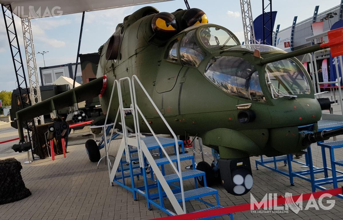 Pakiet modernizacyjny MI-24 ma przywrócić zdolności bojowe polskim śmigłowcom szturmowym doczasu pozyskania nowej platformy wramach programu Kruk