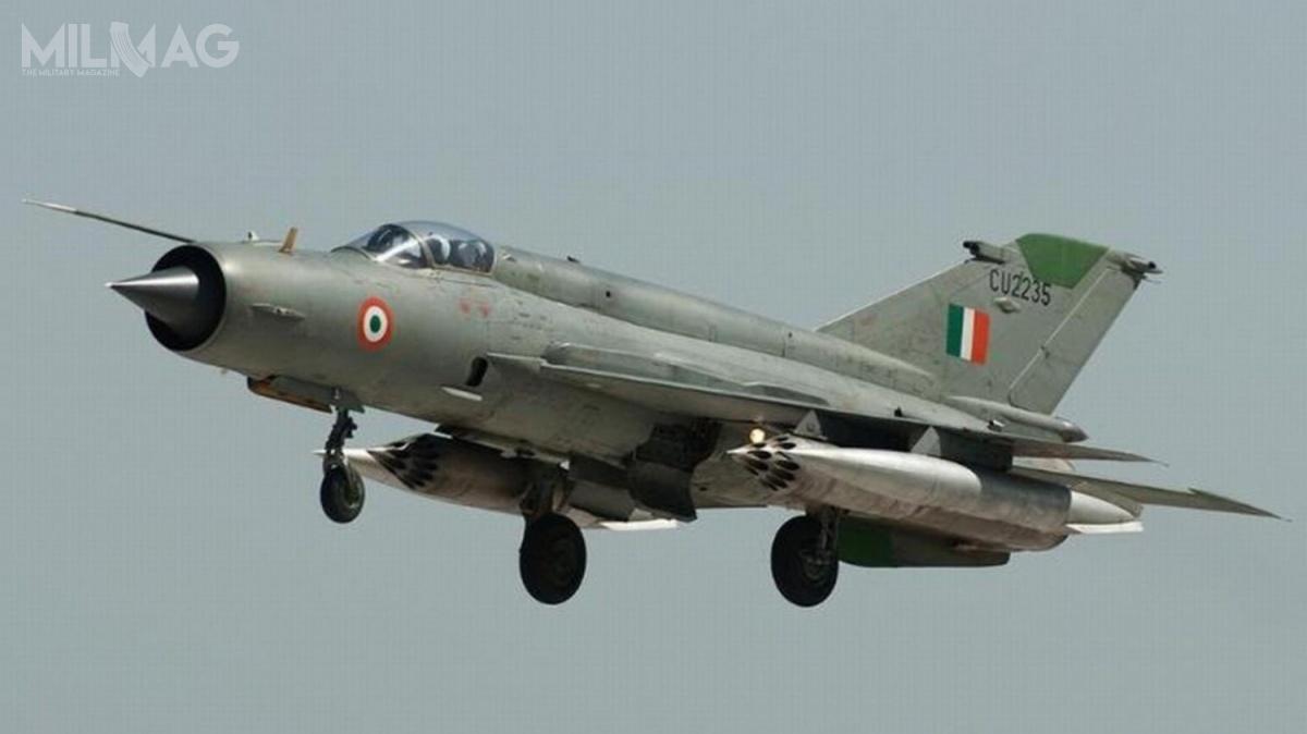 Po indyjskiej akcji zbrojnej wPakistanie 26 lutego wybuchły walki przygraniczne, awpowietrzu doszło dostarć wojsk lotniczych obu państw / Zdjęcie: Bhartiya Vāyu Senā