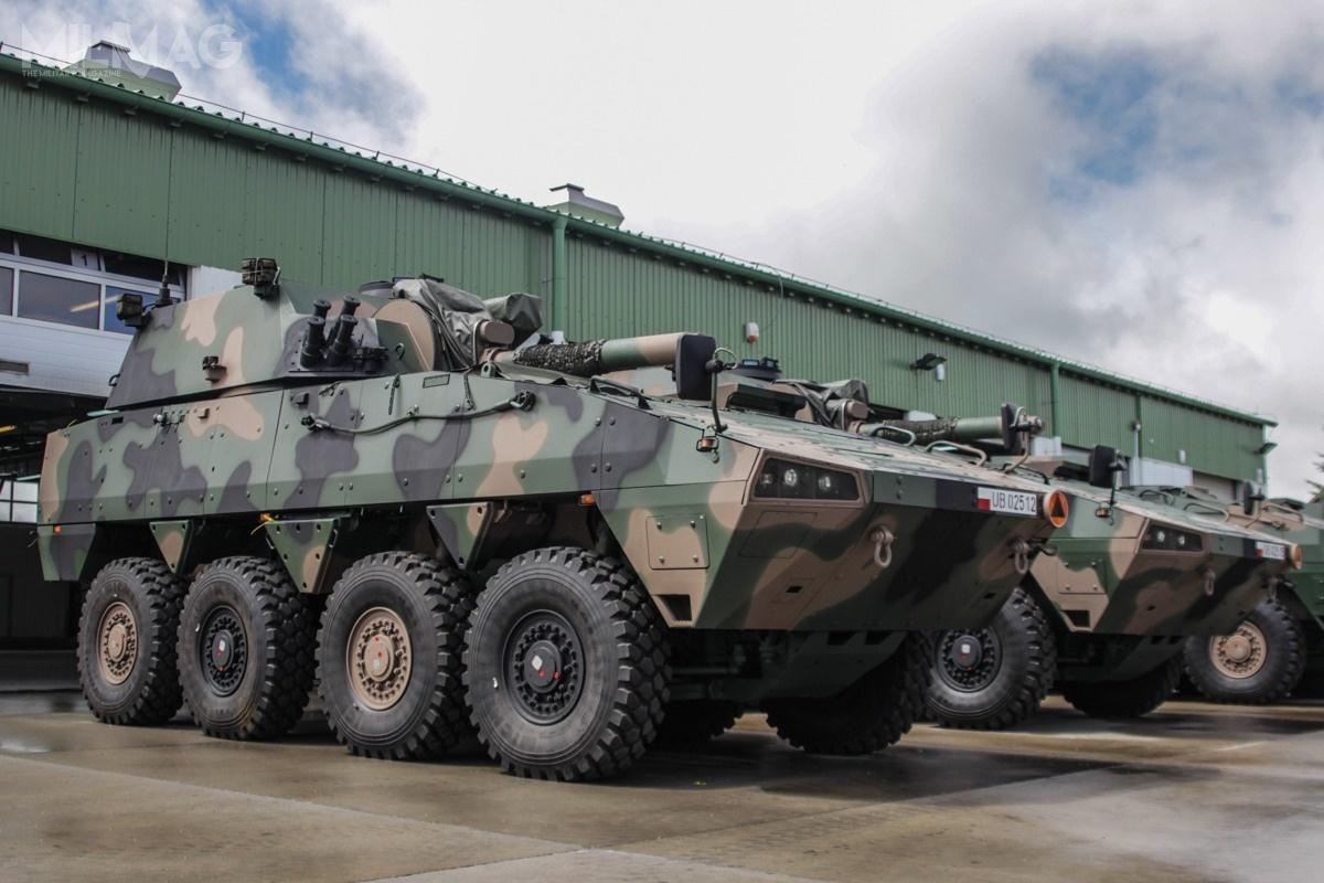 120-mm Samobieżny Moździerz RAK może być rozpatrywany jako jedna zpropozycji wprogramie FIFT / Zdjęcie: 17. Wielkopolska Brygada Zmechanizowana