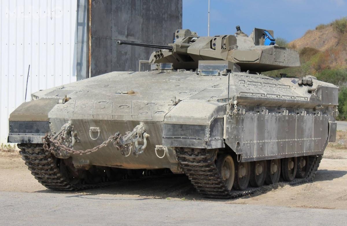 Namer wwersji bojowego wozu piechoty zbezzałogową wieżą, został ujawniony podkoniec lipca 2017. Wtedy też rozpoczęto pierwsze testy prototypu / Zdjęcie: Ministerstwo Obrony Izraela