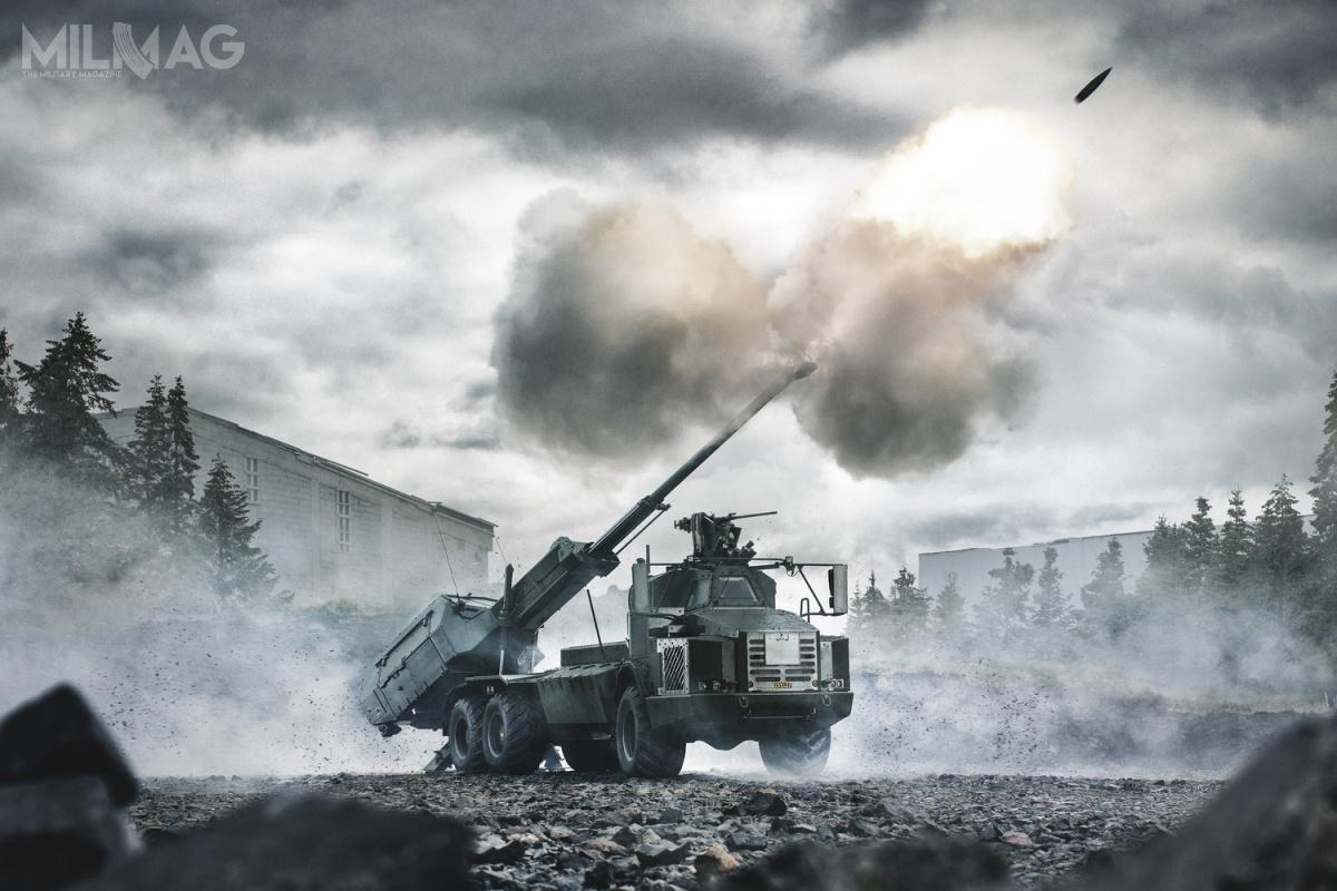 BAE Systems zaoferowała ahs Archer, któradotąd była integrowana zpodwoziami Volvo A30D 6x6 iRheinmetall MAN Military Vehicles (RMMV) HX2 8x8 / Zdjęcie: BAE Systems