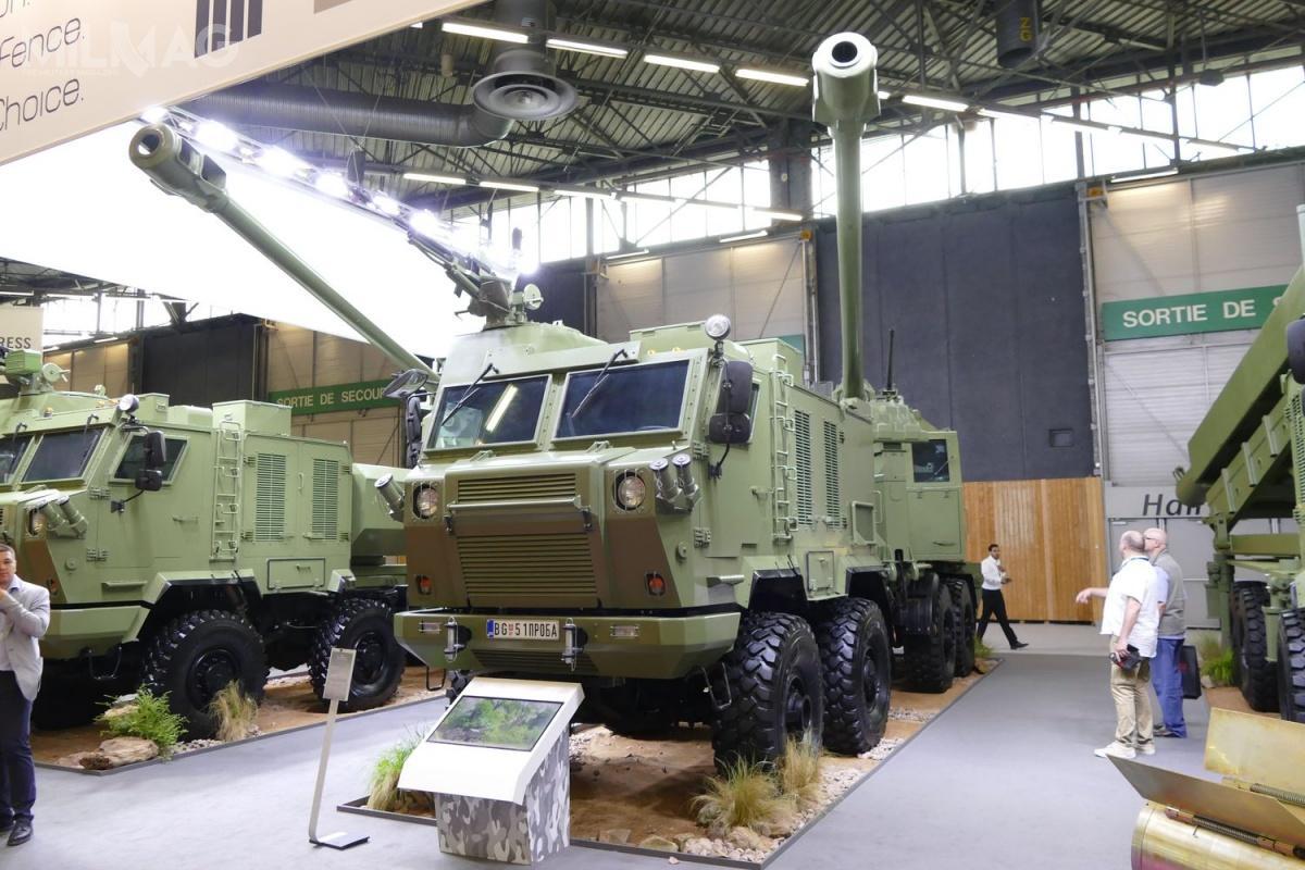 Najciekawszą ofertę złożyła spółka Global Military Products zserbską armatohaubicą Nora B-52, produkowaną przezJugoimport SDPR / Zdjęcie: Remigiusz Wilk