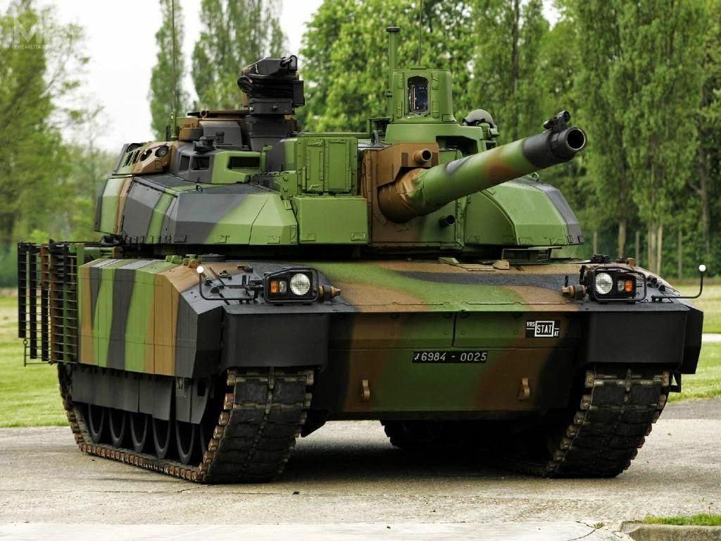 Demonstrator technologii zmodernizowanego czołgu AMX-56 Leclerc XLR został zaprezentowany podczas paryskich targów Eurosatory 2016. /Zdjęcie: Nexter Systems