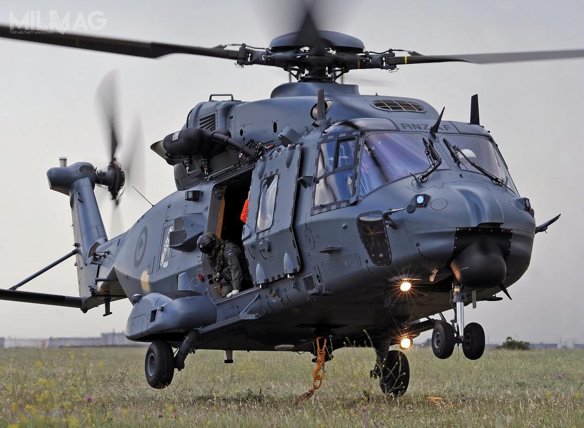 NH90 jest przeznaczony dotransportu 20 żołnierzy lub 2,5 t ładunku. Może być dostosowany dozadań SAR iMEDAVEC/CASEVAC. / Zdjęcie: Airbus Helicopters