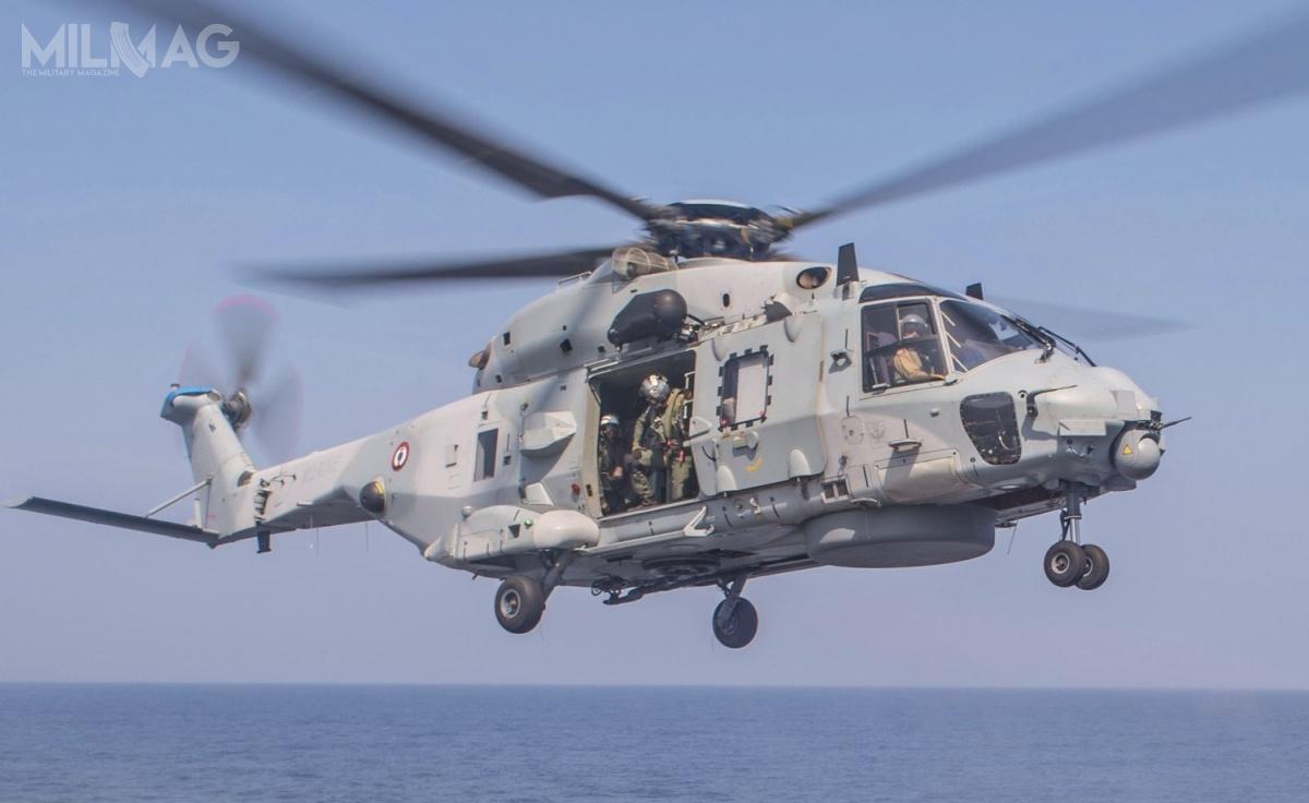 NH90 NFH może zostać przystosowany dozwalczania okrętów nawodnych ipodwodnych iochrony okrętów przedzagrożeniem zpowietrza  / Zdjęcie: David Flewellyn (US Navy)