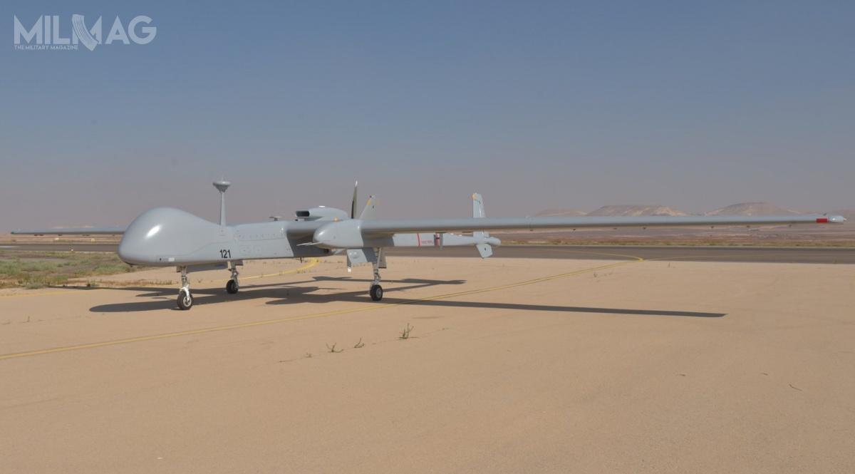 Zakup izraelskich bsl IAI Heron TP klasy MALE jest rozwiązaniem pomostowym doczasu rozpoczęcia wdrożenia europejskiego bezzałogowca tejklasy, rozwijanego wspólnie zFrancją, Włochami iHiszpanią wramach programu EuroMALE. / Zdjęcie: IAI