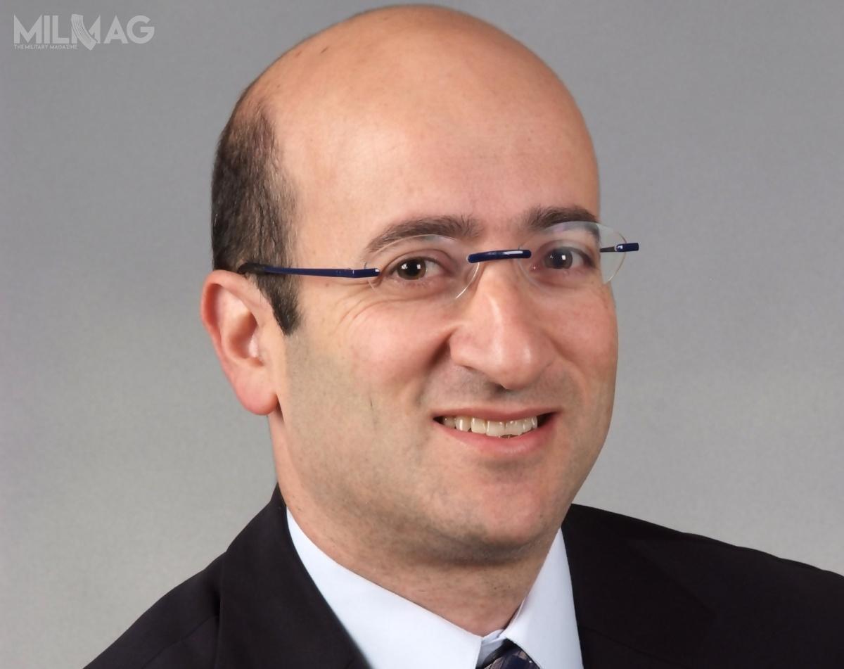 Gen. bryg. (wst. spocz.) Mosze Lipel zastąpi Davida Vaisha nastanowisku wiceprezesa wykonawczego ds.finansów ikontroli / Zdjęcie: Rafael Advanced Defense Systems