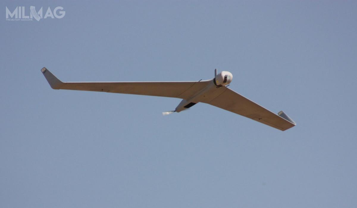 Orbiter 1K jest zdolny dowykonywania 2-3 godzinnego lotu, przenosząc niewielką głowicę bojową igłowicę optoelektroniczną pracującą wpodczerwieni / Zdjęcie: Aeronautics Defense Systems