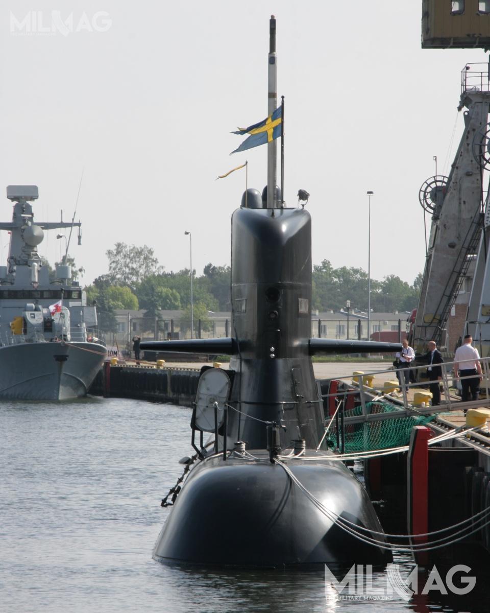 W przededniu globalnego kryzysu gospodarczego, związanego zpandemią choroby COVID-19, można sądzić, iż dwa okręty podwodne typu A17 Södermanland mogą być jedyną możliwością unowocześnienia polskiej floty podwodnej nanajbliższe 10-20 lat / Zdjęcia: Jakub Link-Lenczowski