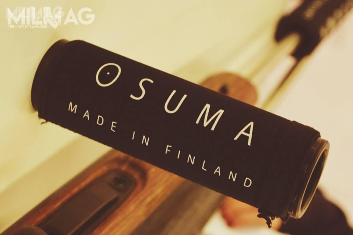 Na stoisku Fińskiego producenta można było również obejrzeć tłumik dźwięku – jednak niestety zewzględu naniemieckie przepisy, jedynie wformie atrapy, aniefunkcjonalnego produktu. /Zdjęcia: Paweł Ściborek