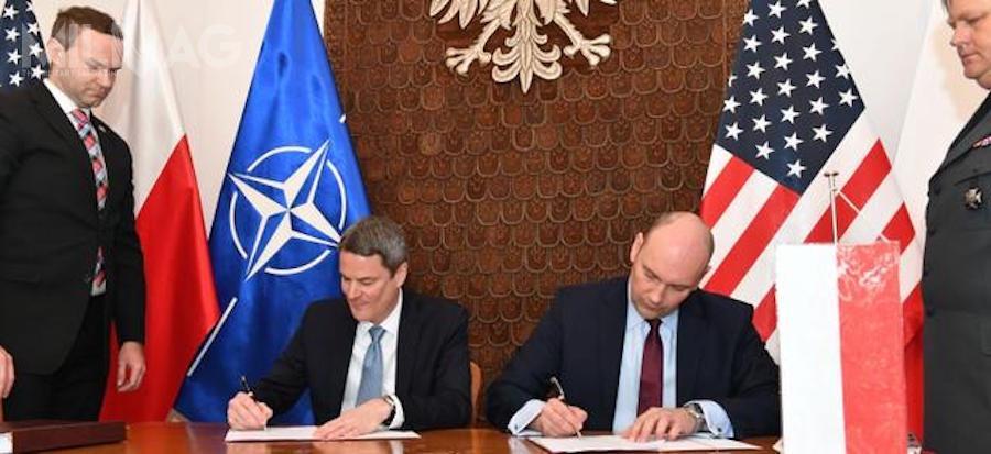 Podpisanie umów offsetowych pozwoli natransfer technologii związanej zsystemem obrony powietrznej Patriot doPolski. /Zdjęcie: Leszek Chemperek, MON