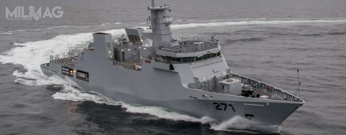 Nowe okręty będą służyć dopatrolowania wyłącznej strefy ekonomicznej Pakistanu / Zdjęcia: Damen