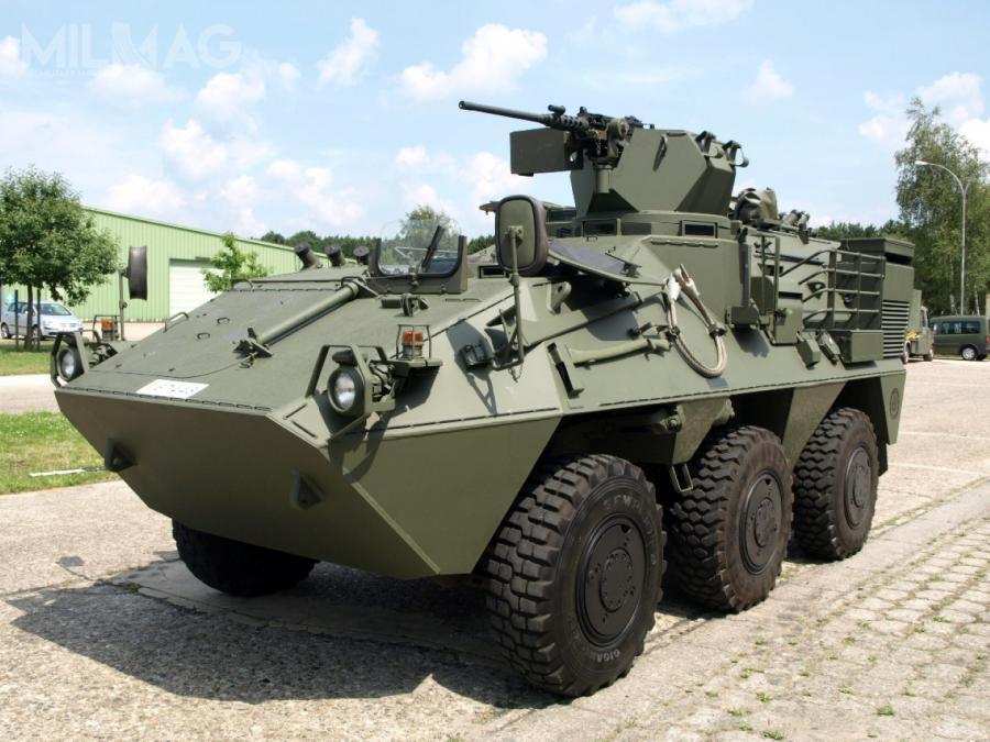 Zdalnie sterowane systemy wieżowe ARROWS 300 zostaną zintegrowane ztransporterami opancerzonymi Pandur Iwwariancie rozpoznawczym, atakże znastępcą obecnie użytkowanych pojazdów Iveco LMV (Lynx). Planuje się doposażenie 88 znich. / Zdjęcia: Ministerstwo Obrony Belgii.