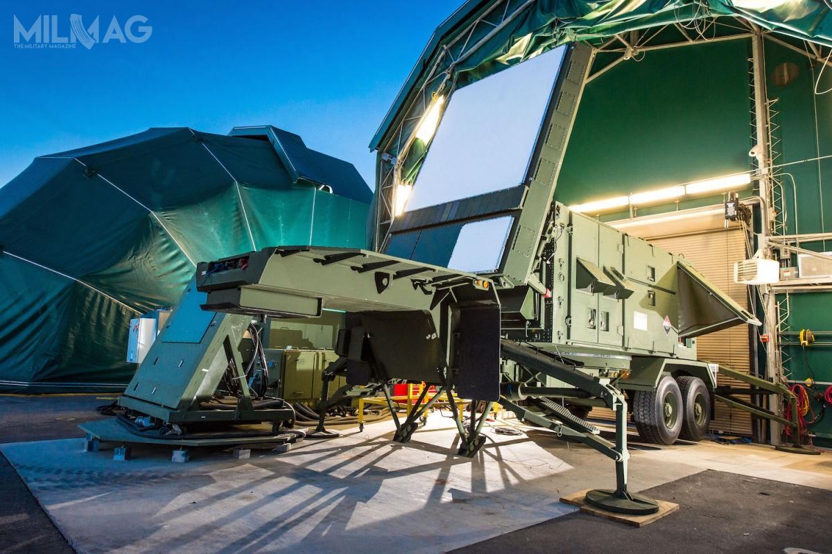 Jednym zwymagań polskiego MON jest pozyskanie rozwijanego obecnie radaru dookólnego AESA, zmatrycą budowaną wnajnowszej technologii azotku galu. /Zdjęcia: Raytheon